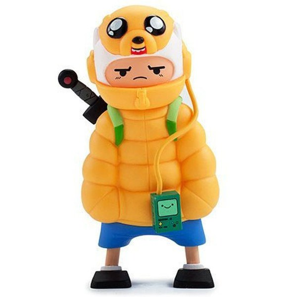 Kid Robot Adventure Time x Kidrobot Puff Jake 'n Lil Finn