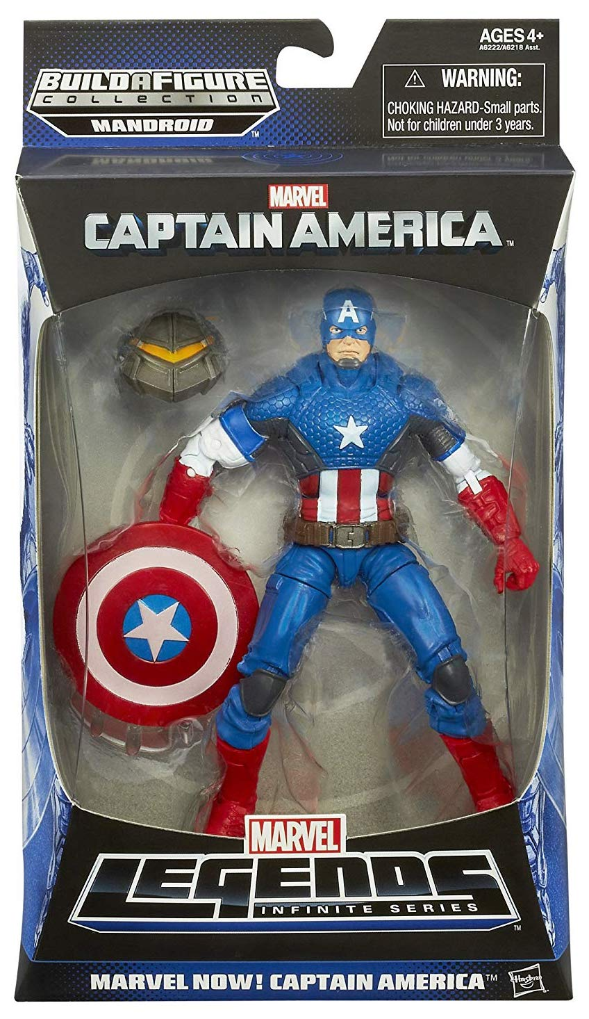 Marvel Legends Mandroid Series Captain America (NOW)