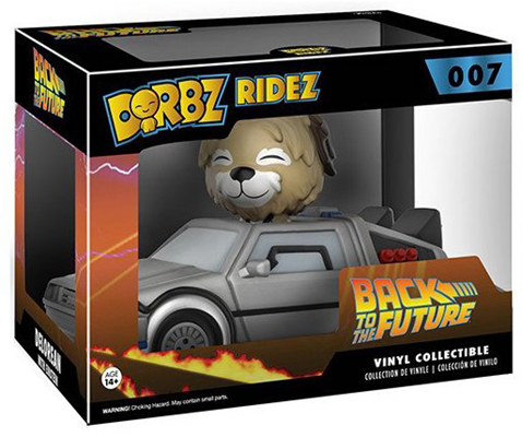 Dorbz Dorbz Ridez Einstein (w/ DeLorean) Stock
