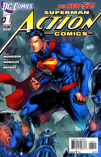 DC Comics Action Comics (2011 - 2016) Action Comics (2011) #1G Icon Thumb