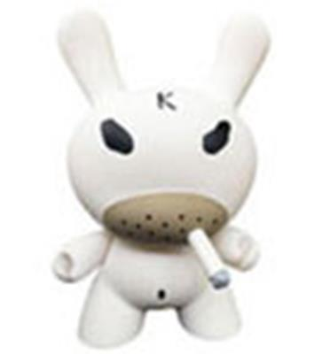 "Kid Robot 8"" Dunnys White Hate"