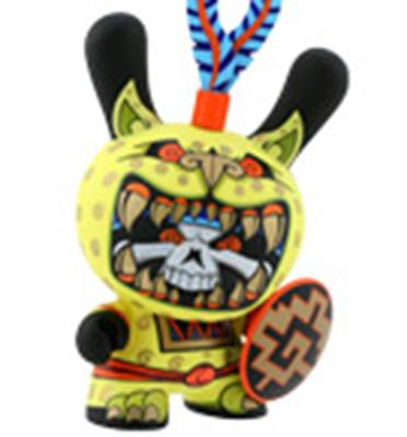 "Kid Robot 8"" Dunnys Jaguar Warrior"