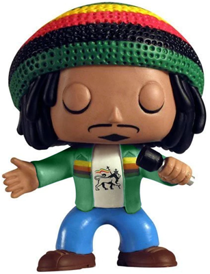 Funko Pop! Rocks Reggae Rasta (Green Jacket) - CHASE