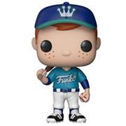 Funko Pop! Freddy Funko Baseball Teal Uniform