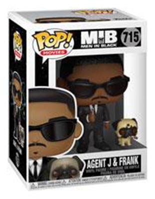 Funko Pop! Movies Agent J and Frank Stock