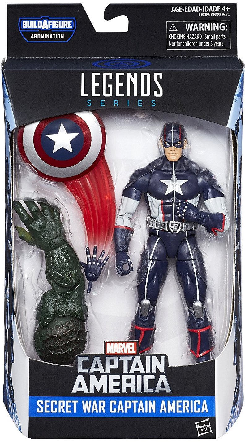 Marvel Legends Abomination Series Captain America