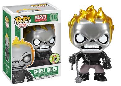 Funko Pop! Marvel Ghost Rider (Metallic) Stock