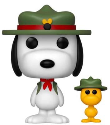 Funko Pop! Animation Beagle Scout Snoopy with Woodstock Icon