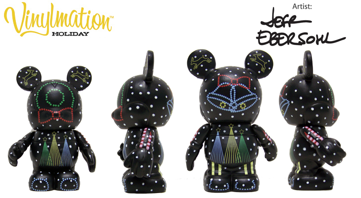 Vinylmation Open And Misc Holiday 2009 Osborne Dancing Lights 'spectacle'