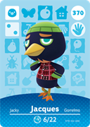 Amiibo Cards Animal Crossing Series 4 Jacques