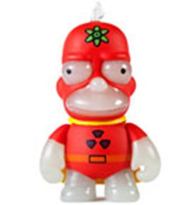 Kid Robot Simpsons x Kidrobot Radioactive Man (Glow)