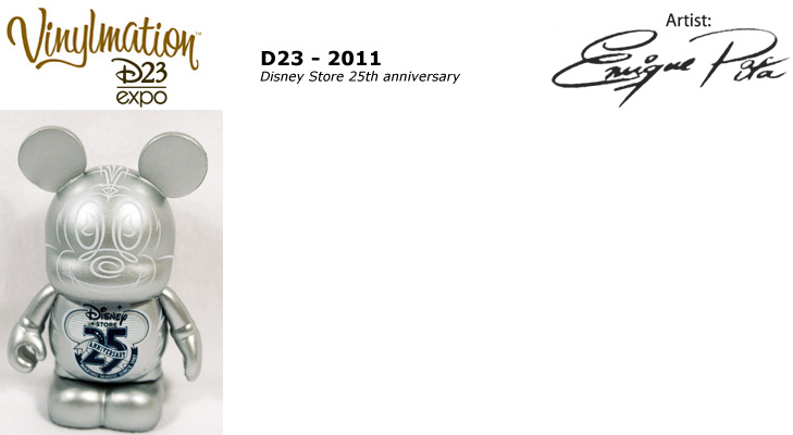 Vinylmation Open And Misc D23 D23 Expo Disney Store 25th