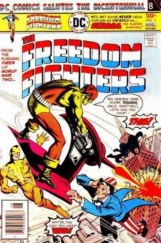DC Comics Freedom Fighters (1976) Freedom Fighters (1976) #3 Stock