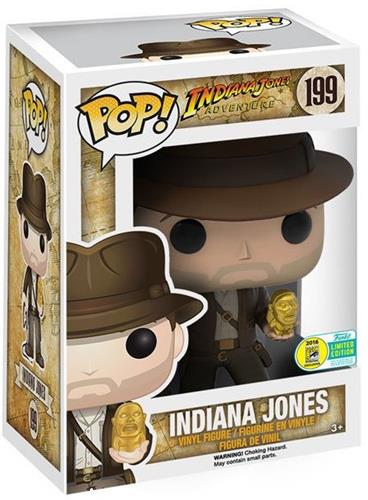 Funko Pop! Disney Indiana Jones (w/ Idol) Stock