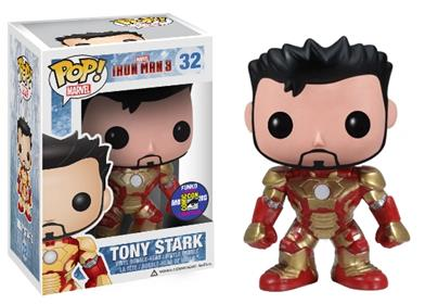 Funko Pop! Marvel Tony Stark Stock