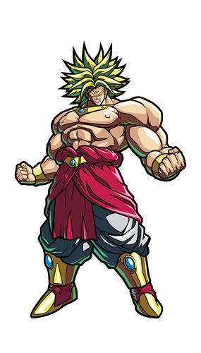 FiGPin Dragon Ball FighterZ Broly Icon