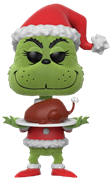 Funko Pop! Books The Grinch (Flocked) w/ Roast Beast