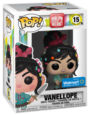 Funko Pop! Disney Vanellope (Armed) Stock