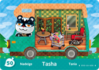 Amiibo Cards Welcome amiibo Tasha