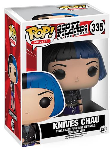 Funko Pop! Movies Knives Chau Stock
