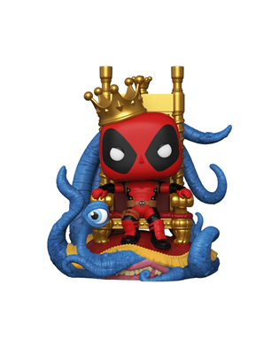 Funko Pop! Marvel King Deadpool (10 Inch) Icon