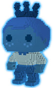 Funko Pop! Freddy Funko 8-BIT (Blue) - Glow