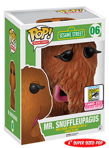 Funko Pop! Sesame Street Mr. Snuffleupagus (Flocked) Stock