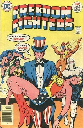 DC Comics Freedom Fighters (1976) Freedom Fighters (1976) #5