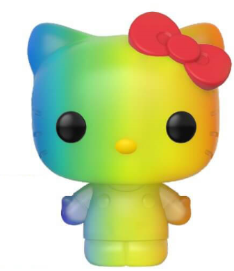 Funko Pop! Sanrio Hello Kitty (Pride) Icon