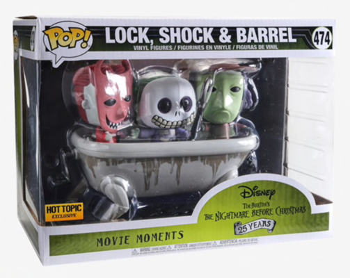 Funko Pop! Disney Lock, Shock & Barrel Stock
