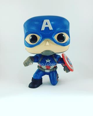 Funko Pop! Marvel Captain America (Civil War) (Action Pose) funko.collectors on instagram.com