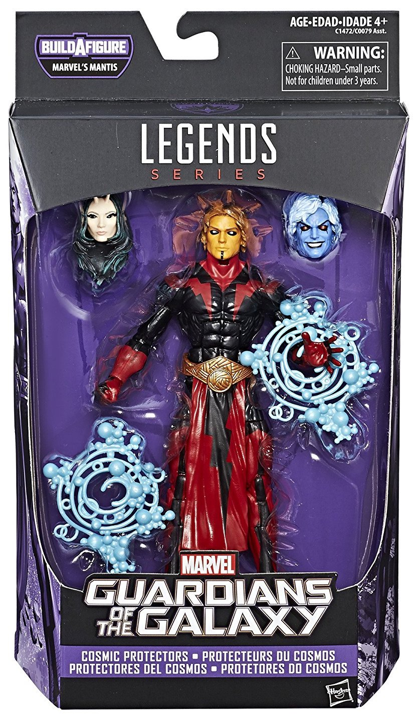 Marvel Legends Mantis Series Adam Warlock