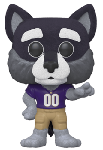 Funko Pop! College Mascots Harry The Husky (Flocked)