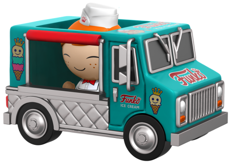 Dorbz Dorbz Ridez Freddy Funko (w/ Ice Cream Truck) Icon