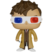 Funko Pop! Television Tenth Doctor (3D Glasses)