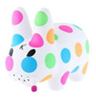 Kid Robot Labbits Day Glow Polka Dot