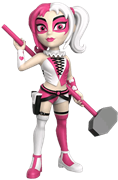 Rock Candy Heroes Harley Quinn (Pink/White)