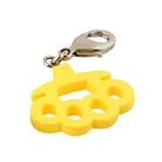 Kid Robot Blind Boxes Things That Hurt Brass Knuckles - Yellow