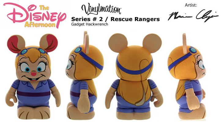 Vinylmation Open And Misc Disney Afternoon 2 Gadget Hackwrench