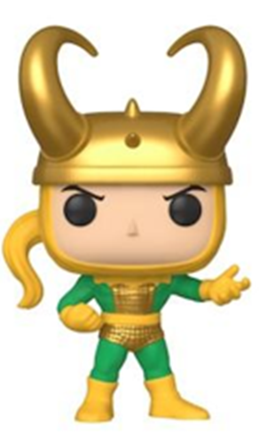 Funko Pop! Marvel Loki (First Appearance)