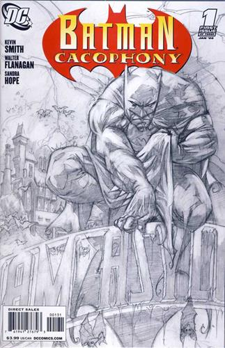 DC Comics Batman Cacophony (2008) Batman Cacophony (2008) #1 (Adam Kubert Sketch Variant Cover) Icon