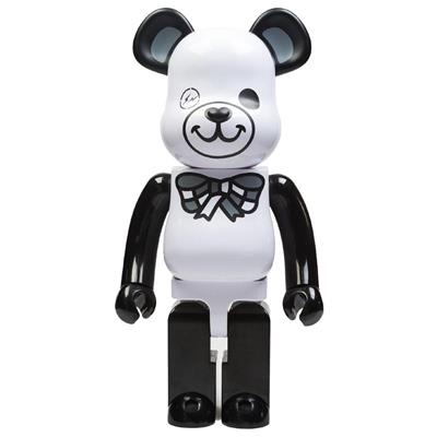 Be@rbrick Misc Freemasonry x Fragment Design (White) 1000%