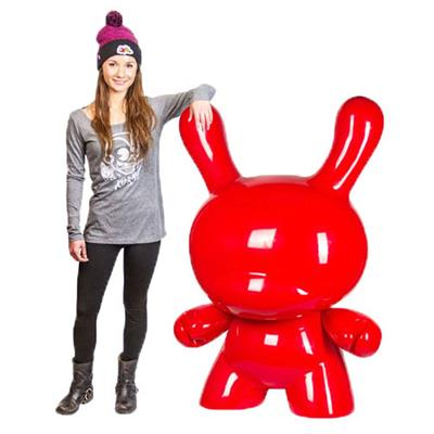 Kid Robot 4' Dunnys Red Stock