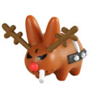 Kid Robot Labbit Packs Xmas Wonderland: Rotten Rudolph Stock