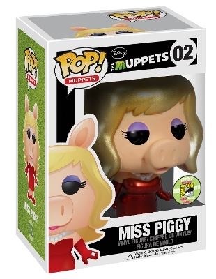 Funko Pop! Muppets Miss Piggy (Metallic) Stock
