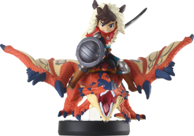 Amiibo Monster Hunter Stories One-Eyed Rathalos and Rider