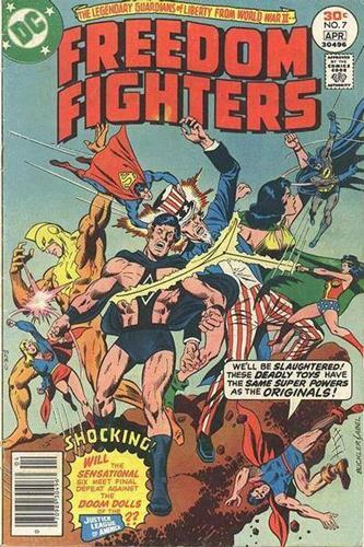 DC Comics Freedom Fighters (1976) Freedom Fighters (1976) #7 Stock
