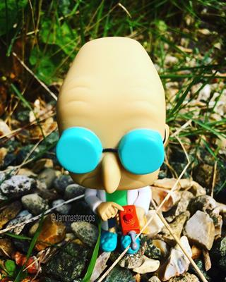 Funko Pop! Animation Professor Farnsworth jammasterpops on instagram.com