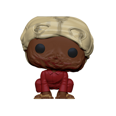 Funko Pop! Movies Pluto with a mask up (Chase) Icon