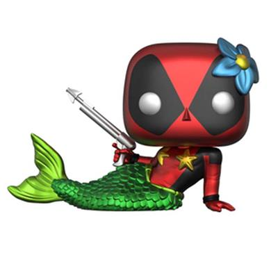 Funko Pop! Marvel Deadpool (Mermaid) - Metallic
